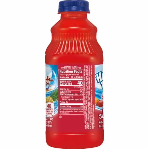Hawaiian Punch Fruit Juicy Red Perspective: left