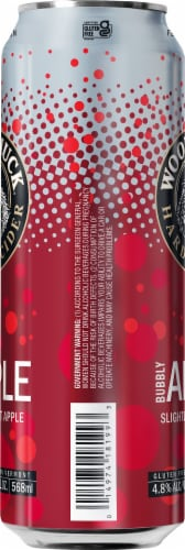 Woodchuck Bubbly Apple Hard Cider Perspective: left