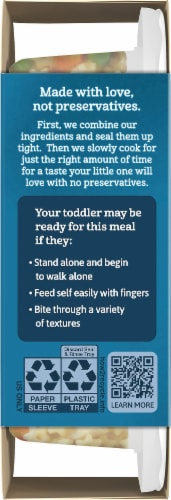 Gerber Pasta Stars with Chicken & Vegetables Toddler Lil' Meal Perspective: left
