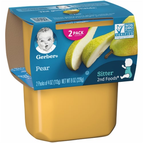 Gerber 2nd Foods Pear Baby Food Perspective: left