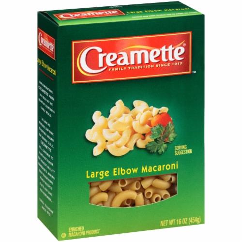 Creamette Large Elbow Macaroni Perspective: left