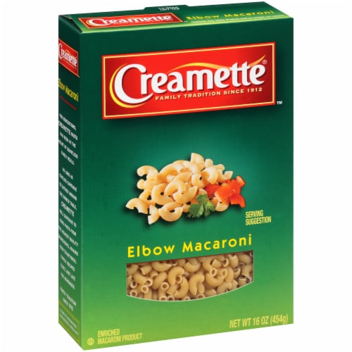 Creamette Elbow Macaroni Perspective: left