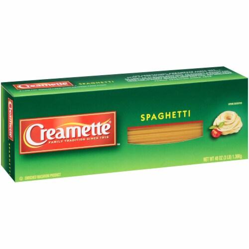 Creamette Spaghetti Perspective: left