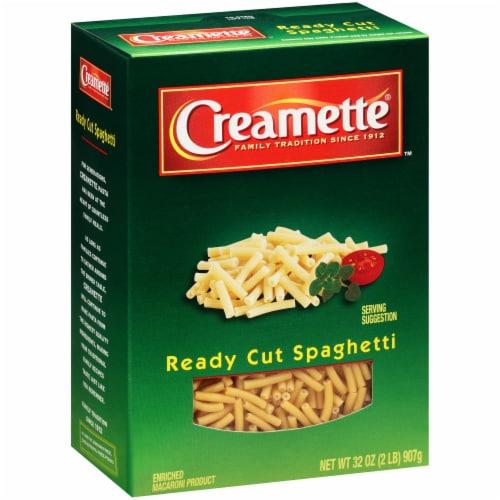 Creamette Ready Cut Spaghetti Perspective: left