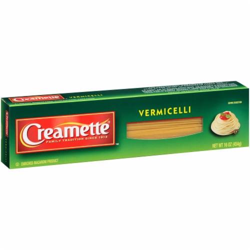 Creamette Vermicelli Pasta Perspective: left