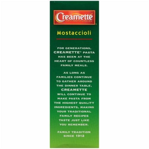 Creamette Mostaccioli Pasta Perspective: left