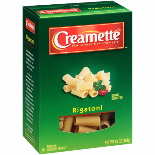 Creamette Rigatoni Pasta Perspective: left