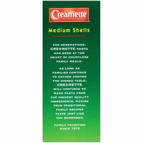 Creamette Medium Shells Pasta Perspective: left