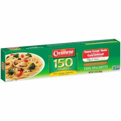 Creamette 150 Calorie Thin Spaghetti Perspective: left