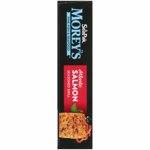 Morey's Seasoned Grill Atlantic Salmon Perspective: left