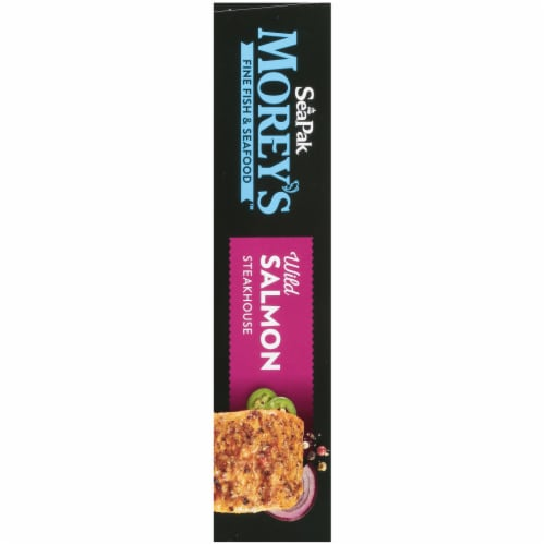 Moreys Wild Salmon Steakhouse Fillets Perspective: left