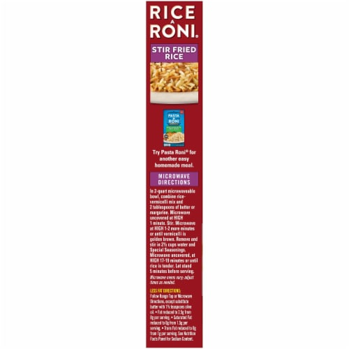Rice-A-Roni Stir Fried Rice Mix Perspective: left