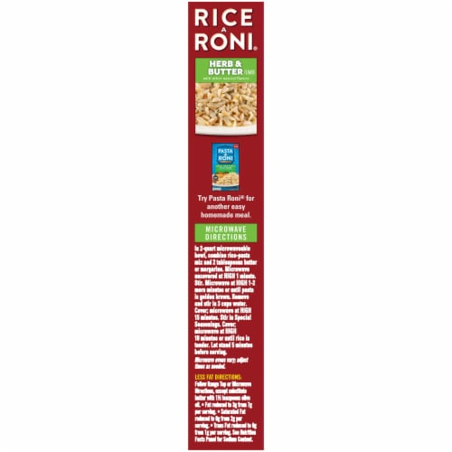 Rice-A-Roni Herb & Butter Rice Mix Perspective: left