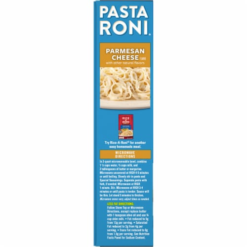 Pasta Roni Parmesan Cheese Angel Hair Pasta Mix Perspective: left