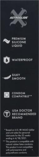 Astroglide Premium Waterproof Silicone Liquid Personal Lubricant Perspective: left