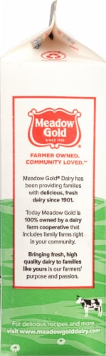Meadow Gold Viva 2% Reduced Fat Milk Perspective: left