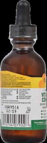 Country Life Natural Vitamin E Complex Liquid Supplement Perspective: left