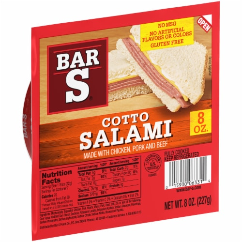 Bar-S® Cotto Salami Perspective: left