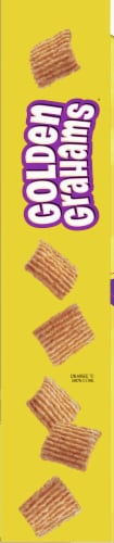 Golden Grahams Cereal Giant Size Perspective: left