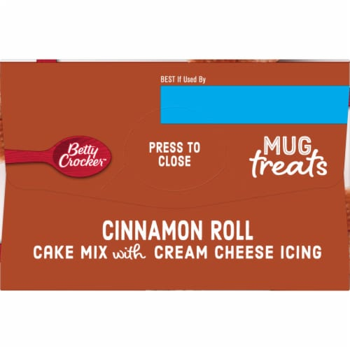 Betty Crocker Mug Treats Cinnamon Roll Mix Perspective: left
