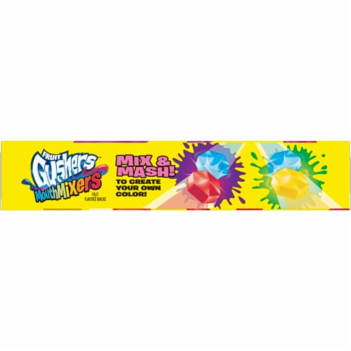 Fruit Gushers Punch Berry Mouth Mixers Fruit Snacks Perspective: left