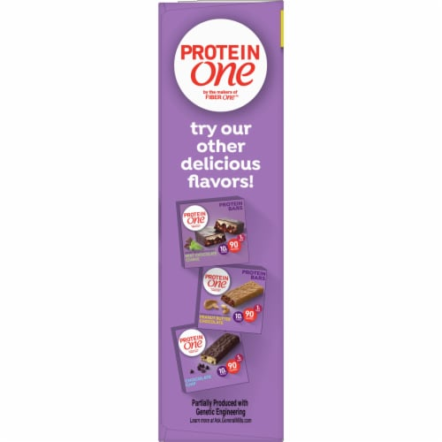 Protein One Salted Caramel Crisp Bars Perspective: left