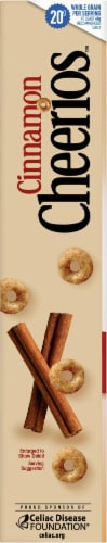 Cheerios Cinnamon Whole Grain Oat Cereal Perspective: left
