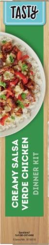 Tasty Creamy Salsa Verde Chicken Dinner Kit Perspective: left