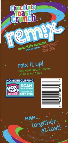 Cinnamon Toast Crunch Remix Chocolate Toast Crunch Snacking Mix Perspective: left