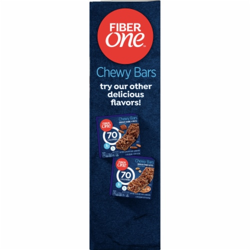 Fiber One 70 Calorie Chocolate Chewy Bars Perspective: left