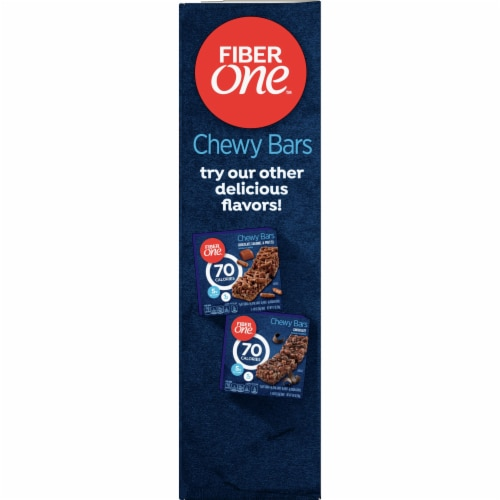 Fiber One 70 Calorie Chocolate Peanut Butter Chewy Bars Perspective: left
