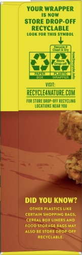 Nature Valley Crunchy Maple Brown Sugar Granola Bars Perspective: left