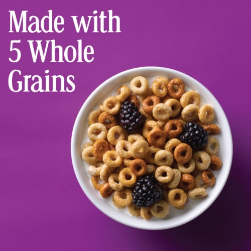 Cheerios Multi-Grain Lightly Sweetened Cereal Perspective: left