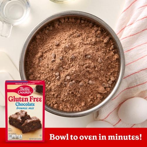 Betty Crocker Gluten Free Chocolate Brownie Mix Perspective: left