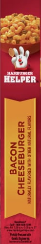 Hamburger Helper Bacon Cheeseburger Pasta & Sauce Mix Perspective: left