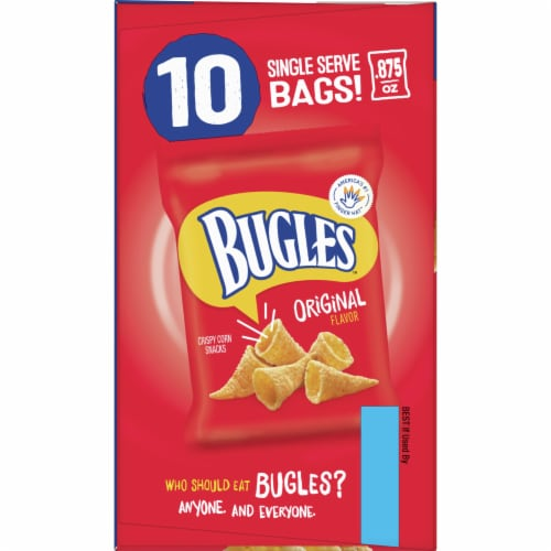 Bugles Crispy Corn Snacks Multipack Perspective: left