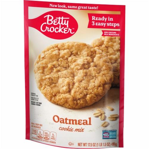 Betty Crocker Oatmeal Cookie Mix Perspective: left