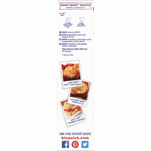 Bisquick Heart Smart Pancake & Baking Mix Perspective: left
