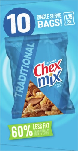 Chex Mix Traditional Snack Mix Multipack Perspective: left