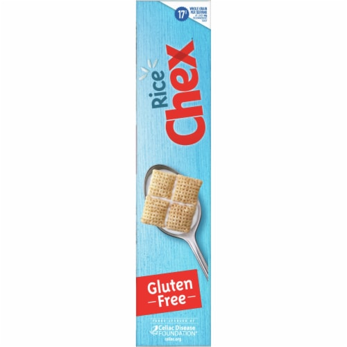Chex Gluten Free Rice Cereal Family Size Perspective: left