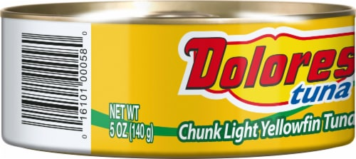 Dolores Yellowfin Tuna In Vegetable Oil Perspective: left