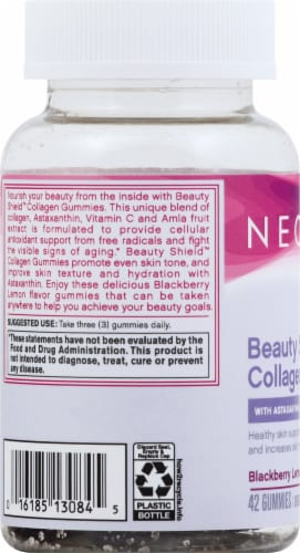 NeoCell Beauty Shield Gummies Perspective: left