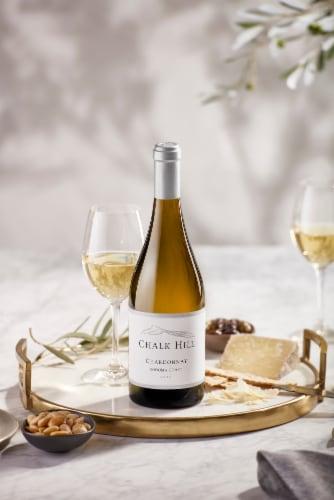 Chalk Hill Chardonnay White Wine Perspective: left