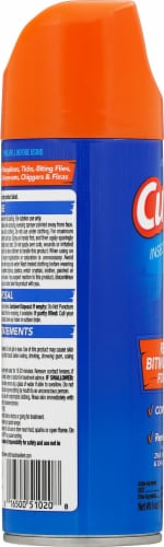 Cutter® Unscented Insect Repellent Aerosol Spray Perspective: left
