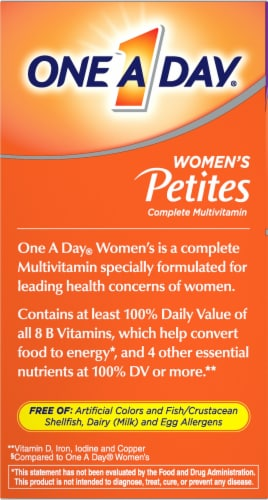 One A Day Women's Multivitamin Tablets Perspective: left