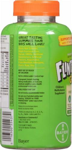 Flintstones Sour Gummies Kids Vitamins with  Vitamins A B6 B12 C D & more Perspective: left