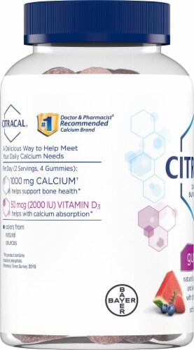 Citracal Calcium + Vitamin D Gummies Perspective: left