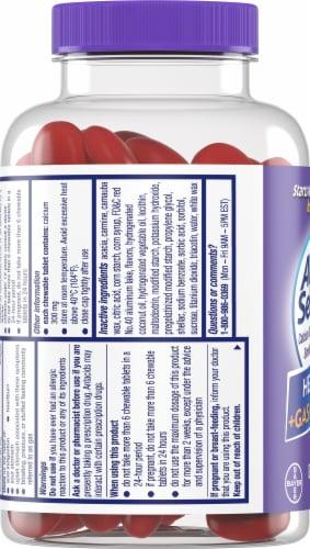 Alka-Seltzer® Tropical Punch Heartburn + Gas Reliefchews Chewable Tablets Perspective: left