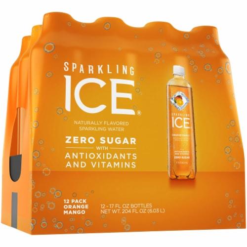 Sparkling Ice Orange Mango Sparkling Water Perspective: left