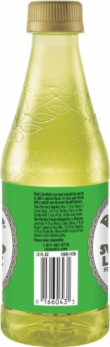 Rose's® Sweetened Lime Juice Cordial Prepared Cocktail Perspective: left
